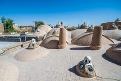 Alte Badeanstalt in Kashan Stockbilder