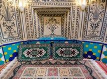 Alte Badeanstalt in Kashan Lizenzfreie Stockfotos