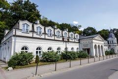 Alte Badeanstalt in Naleczow Lizenzfreie Stockbilder