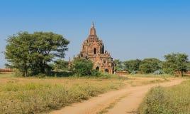 Alte Bagan-Pagode, Myanmar Lizenzfreie Stockfotos