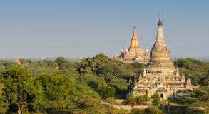 Alte Bagan-Pagoden Stockfoto