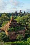 Alte Bagan-Pagoden und Kloster, Mandalay, Myanmar Stockbilder