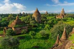Alte Bagan-Pagoden und Tempel, Mandalay, Myanmar Lizenzfreie Stockbilder