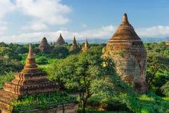 Alte Bagan-Pagoden und Tempel, Mandalay, Myanmar Stockfotos