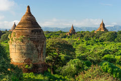 Alte Bagan-Pagoden und Tempel, Mandalay, Myanmar Stockbilder