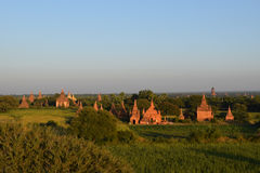 Alte Bagan-Tempel, Mandalay, Myanmar Lizenzfreie Stockbilder