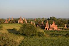 Alte Bagan-Tempel, Mandalay, Myanmar Stockfotografie