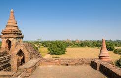 Alte Bagan-Tempel, Myanmar Lizenzfreies Stockfoto