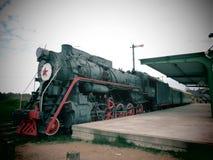 Alte Bahngleise, Litauen Lizenzfreie Stockbilder