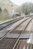 Alte Bahnlinie Lizenzfreie Stockfotografie
