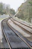 Alte Bahnlinie Stockbild