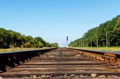 Alte Bahnnahaufnahme Lizenzfreie Stockfotos