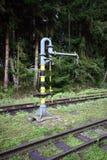Alte Bahnpumpe Lizenzfreie Stockbilder