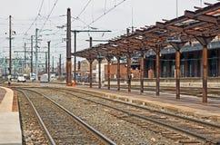 Alte Bahnstation Lizenzfreies Stockfoto