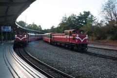 Alte Bahnstationen Stockfoto