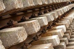 Alte Bahnstrecken Lizenzfreie Stockfotos