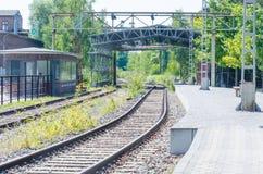 Alte Bahnstrecken Lizenzfreie Stockfotografie