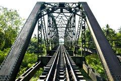 Alte Bahnstrecken am Bahnhof, Transport Lizenzfreies Stockbild