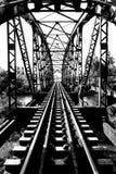 Alte Bahnstrecken am Bahnhof, Transport Stockfoto