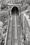 Alte Bahnstrecken und Tunnel. Lizenzfreie Stockfotos