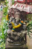 Alte Balinesestatuen, Hinduismus lizenzfreie stockfotografie