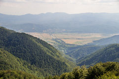Alte Balkan-Berge und Täler, Bulgarien Stockfoto