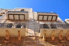 Alte Balkone Lizenzfreies Stockbild