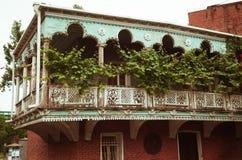 Alte Balkone Tifliss Lizenzfreie Stockfotografie