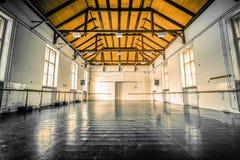 Alte Balletthalle Lizenzfreie Stockbilder
