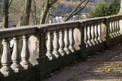Alte Balustrade/Details Lizenzfreie Stockbilder