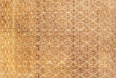 Alte Bambusauflage Lizenzfreie Stockbilder