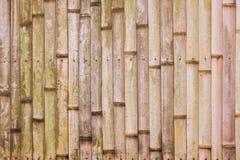 Alte Bambusbeschaffenheit Stockfotos