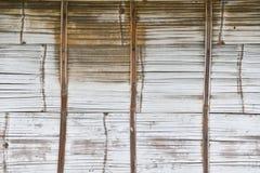 Alte Bambusbeschaffenheit, damit die Anwendung Hintergrund ist Stockbild