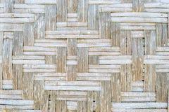 Alte Bambusbeschaffenheit und Hintergrund Lizenzfreies Stockfoto