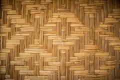 Alte Bambusbeschaffenheit und Hintergrund Lizenzfreie Stockfotos