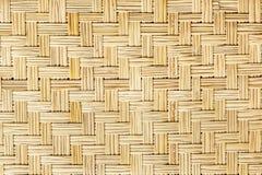 Alte Bambushandwerksbeschaffenheit Lizenzfreies Stockbild