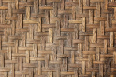 Alte Bambushandwerksbeschaffenheit Lizenzfreie Stockfotos