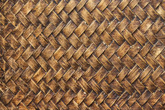 Alte Bambushandwerksbeschaffenheit Lizenzfreie Stockbilder