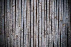Alte Bambustabelle haben Kratzer Lizenzfreie Stockfotografie