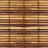 Alte Bambusvorhänge Stockfotografie
