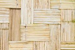 Alte Bambuswände Stockfotos