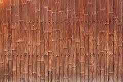 Alte Bambuswand Stockfotos