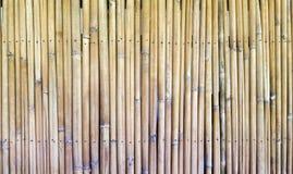 Alte Bambuswand Lizenzfreies Stockfoto