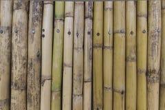 Alte Bambuswand für Hintergrund Lizenzfreie Stockfotos