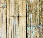 Alte Bambuswebartwand Lizenzfreie Stockfotografie