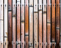 Alte bammboo Wand Stockfotos