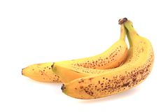 Alte Bananenfrucht Stockfoto