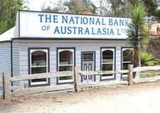 Alte Bank bei Coal Creek Australien Lizenzfreie Stockfotografie