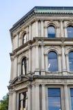 Alte Bank von Montreal-Gebäude in Johannes Lizenzfreie Stockfotos