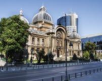 Alte Banken Bucarest Stockfoto